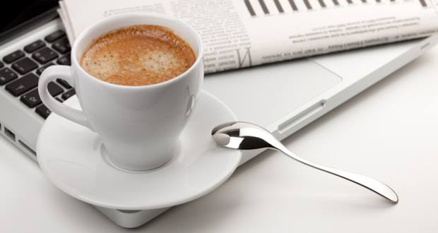 Why You Should Drink Coffee At Work
